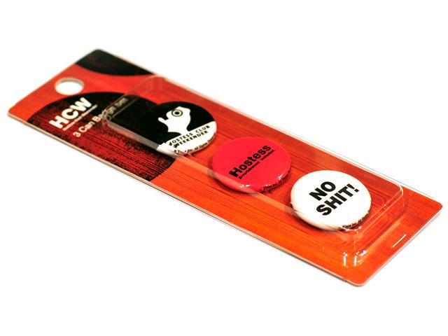 オリジナル缶バッジがさらに魅力的になる各種オプションをご提供しております