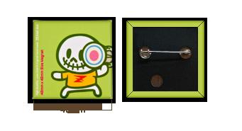 ZEAMI Artの缶バッチ製作には、たくさんの特徴がございます