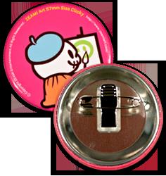 品質・安全性にも優れたオリジナル缶バッチを製作をいたします